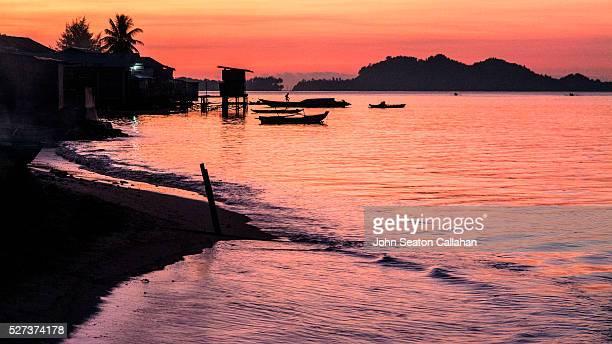 Sunset in Tua Pejat