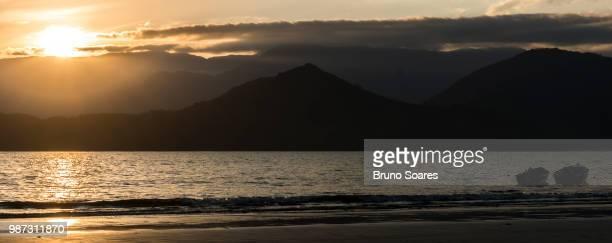 Sunset in Ubatuba