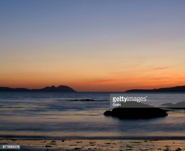 Sunset in Vigo Spain