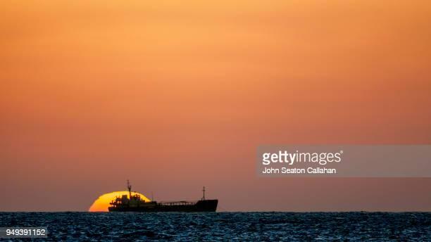 Sunset in Western Sahara