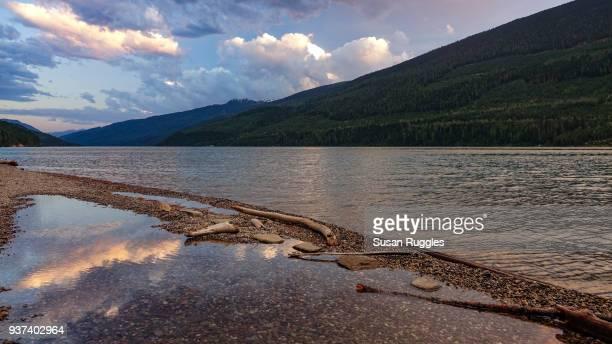 Sunset, Lake Revelstoke, Wadey Forest Recreation Area