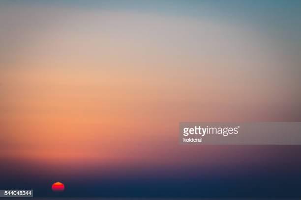 Sunset Mediterranean