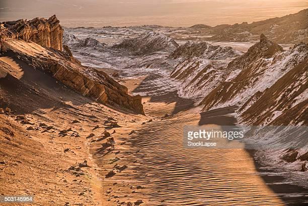 Sunset Moon Valley / Valle de la Luna