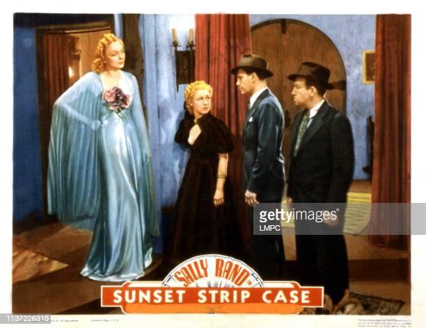 Sunset Murder Case lobbycard Esther Muir Sally Rand Dennis Moore Vince Barnett 1938