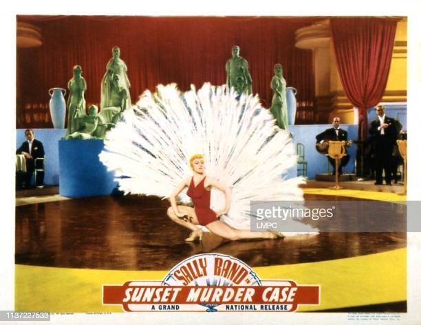 Sunset Murder Case lobbycard Sally Rand 1938