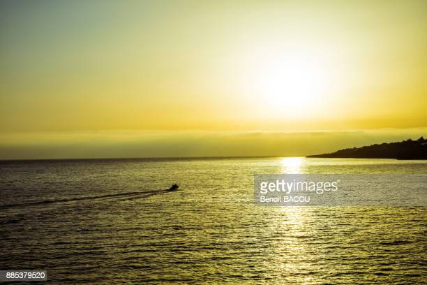 Sunset, near Boca do Inferno (Hells Mouth), Cascais, Lisbon area, Portugal