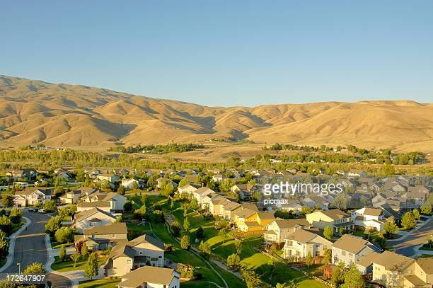 Sunset neighborhood