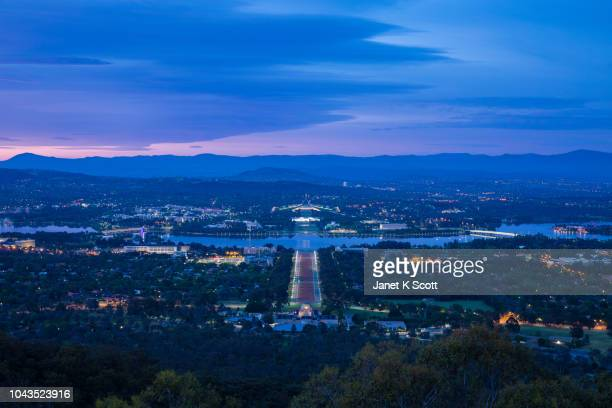Sunset of Canberra