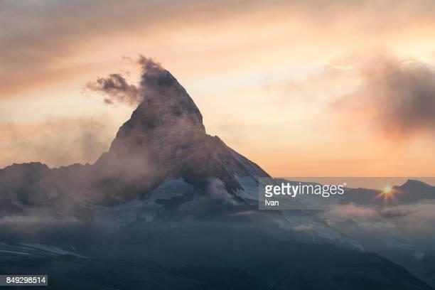 Sunset of Matterhorn