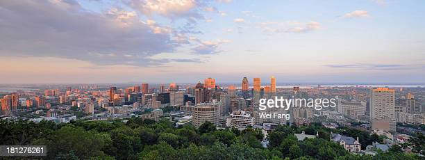 Sunset of Montreal