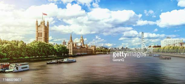 sunset of westminster in london, uk - city of westminster london stock pictures, royalty-free photos & images