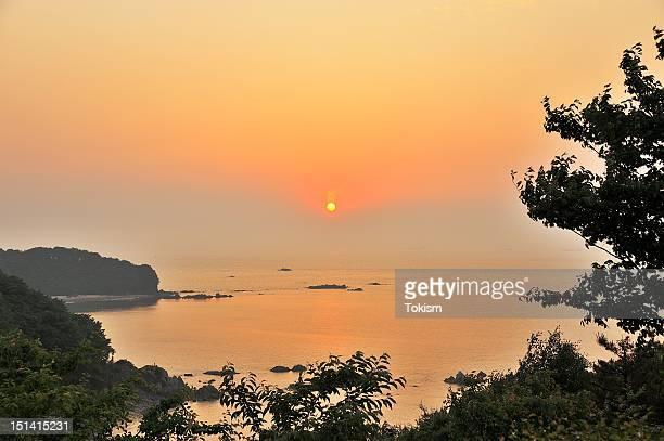 Sunset of Yeongheung Island