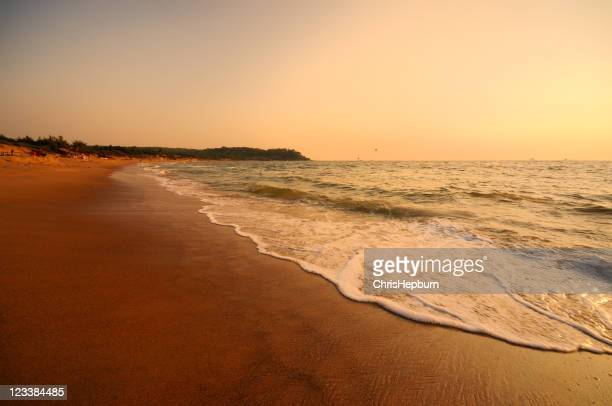 Sunset on Candolim Beach, Goa