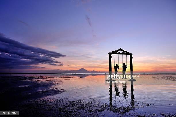 Sunset on Gili Trawangan