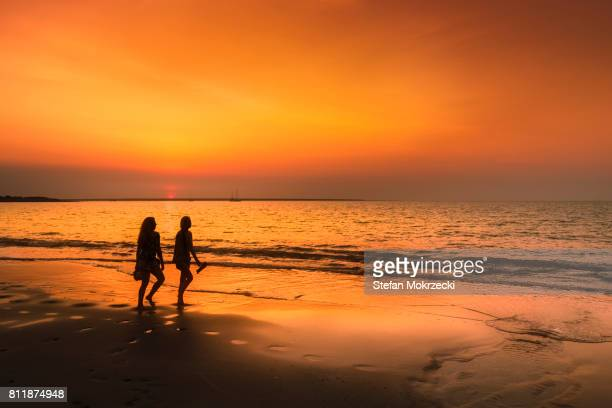 Sunset on Mindil Beach, Darwin, Northern Territory, Australia