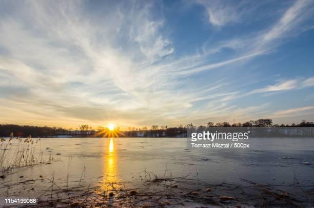 Sunset On Morliny Lake