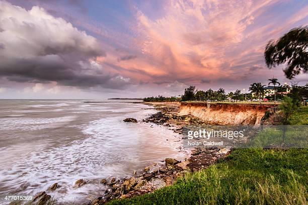 Sunset on Nightcliff shore