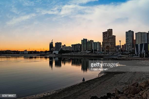 Sunset on Salmaiya seaside (Plajat Street)