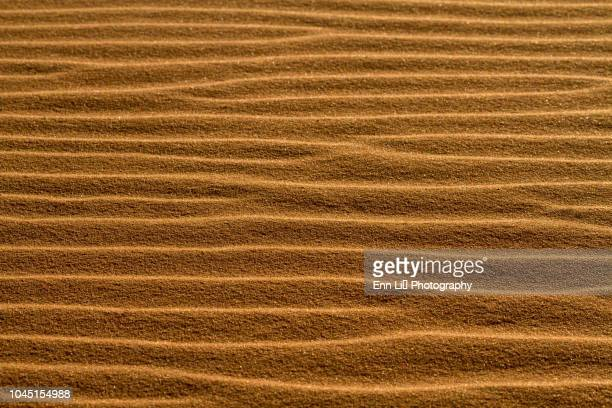 sunset on sand dunes - sandy utah stock pictures, royalty-free photos & images