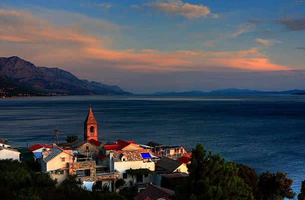 Sunset On The Adriatic Wall Art