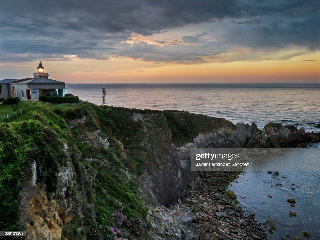 Sunset on the coast. : Stock Photo