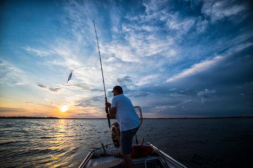 Sunset On The Lake 538491412