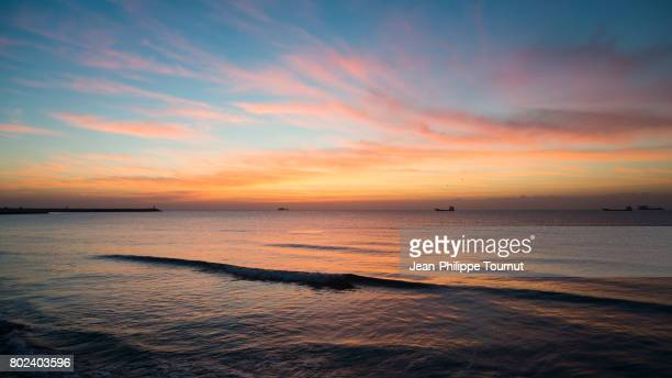 Sunset on the Persian Gulf from Bandar Lengeh, Hormozgan Province, Southern Iran