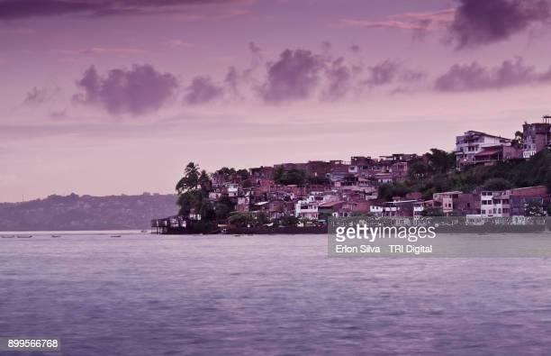 Sunset on the Ribeira Salvador - Bahia