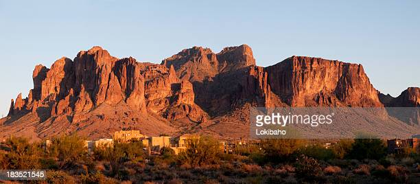 Sunset on the Superstition Mountains