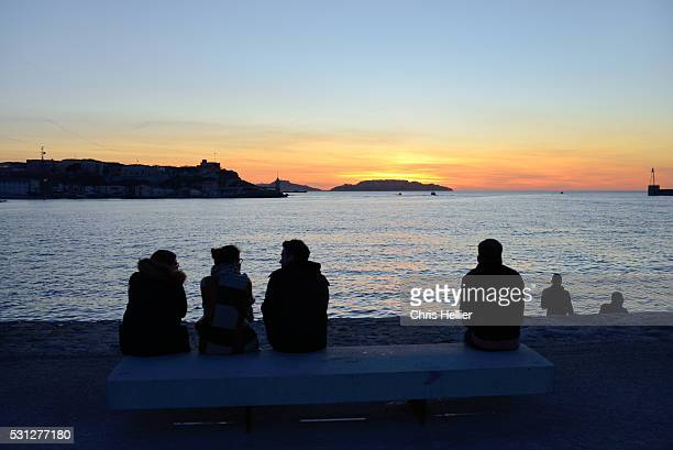 Sunset on the Waterfront Marseille