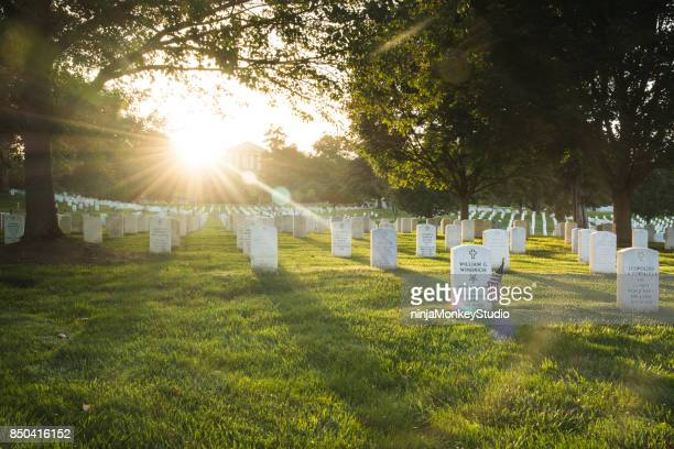 Sunset over Arlington Cemetery