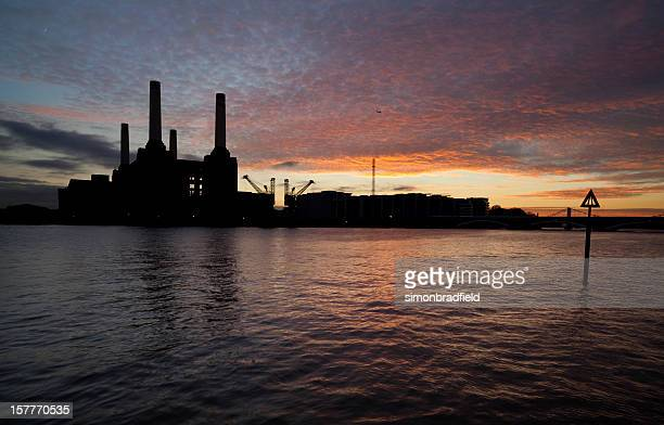 Sunset Over Battersea Power Station