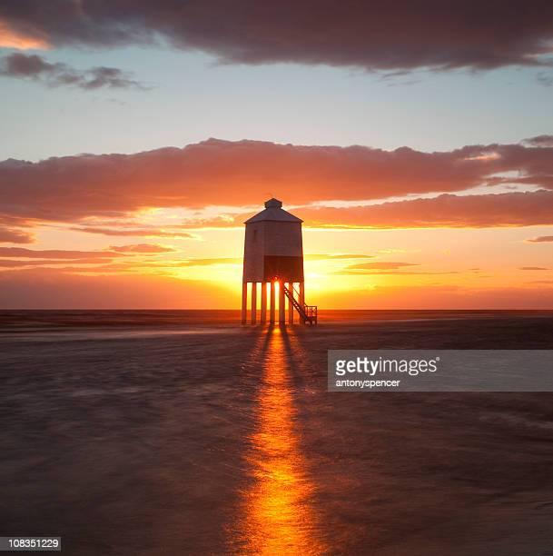 Sunset over Burnham Lighthouse