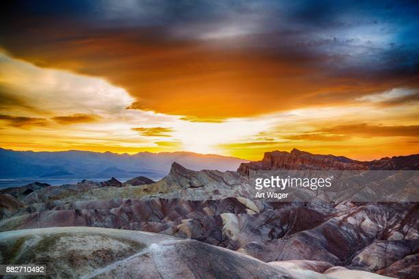 Sunset Over Death Valley National Park