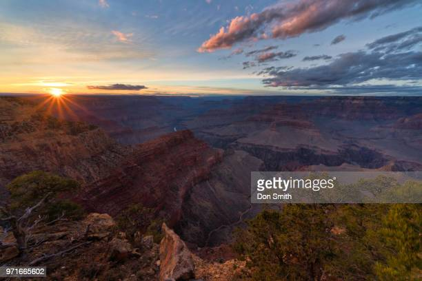 Sunset Over Hopi Point, Grand Canyon