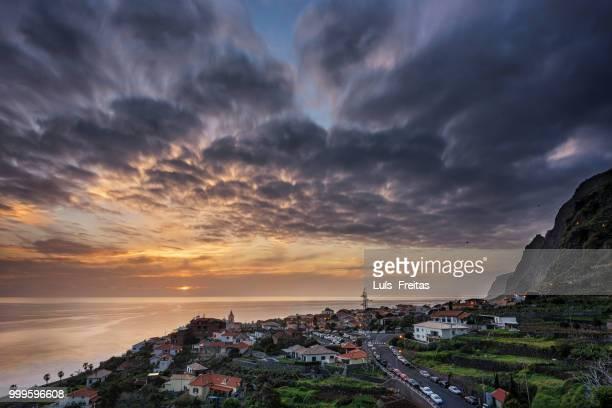 Sunset over Jardim do Mar