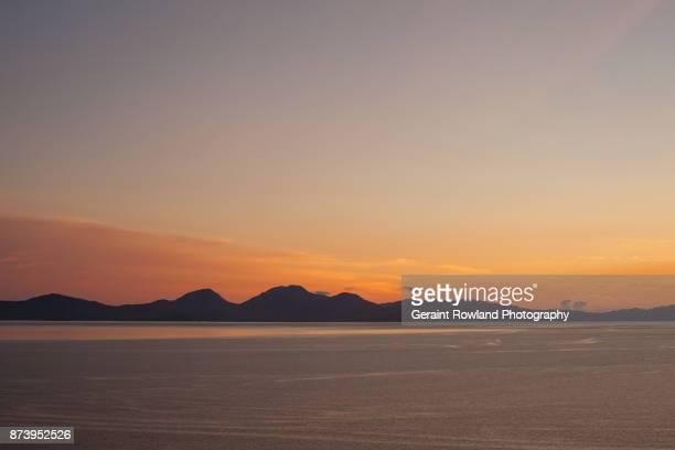 Sunset over Jura, Scotland