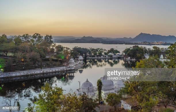 Sunset over Lake Pichola | Udaipur | Rajasthan