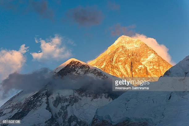 Sunset Over Mount Everest, Sagarmatha NP, Nepal