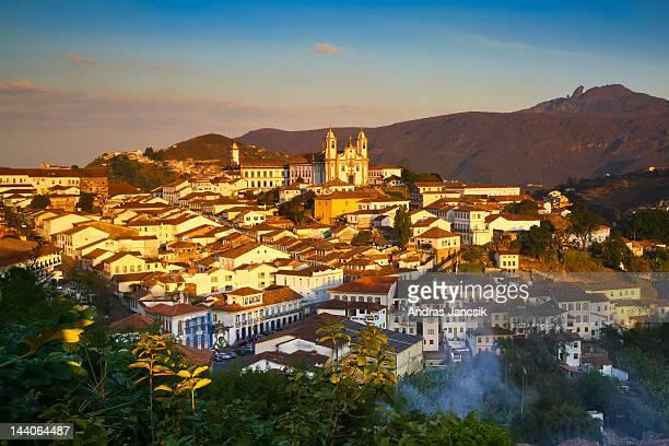 Sunset over Ouro Preto