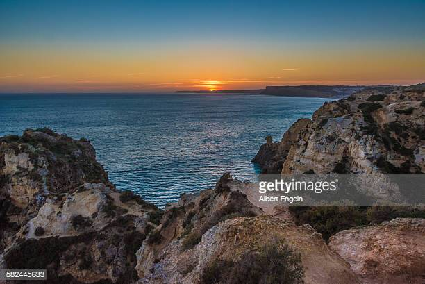 Sunset over Ponta da Piedade