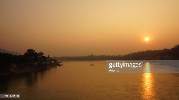 Sunset over River Ganges 2