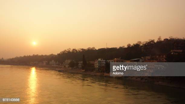 Sunset over River Ganges 3