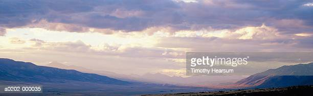sunset over san luis valley - timothy hearsum stock photos and pictures