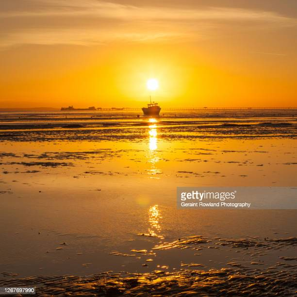 sunset over southend - fashion week stock pictures, royalty-free photos & images