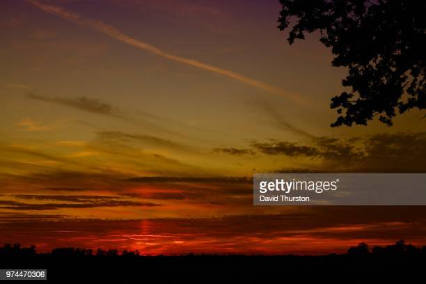 sunset over st. albans - st. albans stock pictures, royalty-free photos & images