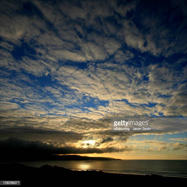 sunset over st ives, cornwall - s0ulsurfing stock pictures, royalty-free photos & images