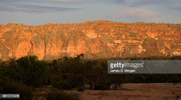 Sunset over the Bungle Bungles in Purnululu National Park on August 11th 2016 in Western Australia