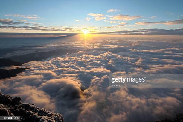 Sunset over the Kilimanjaro