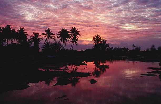 Sunset over the lagoon - Merang, Terengganu